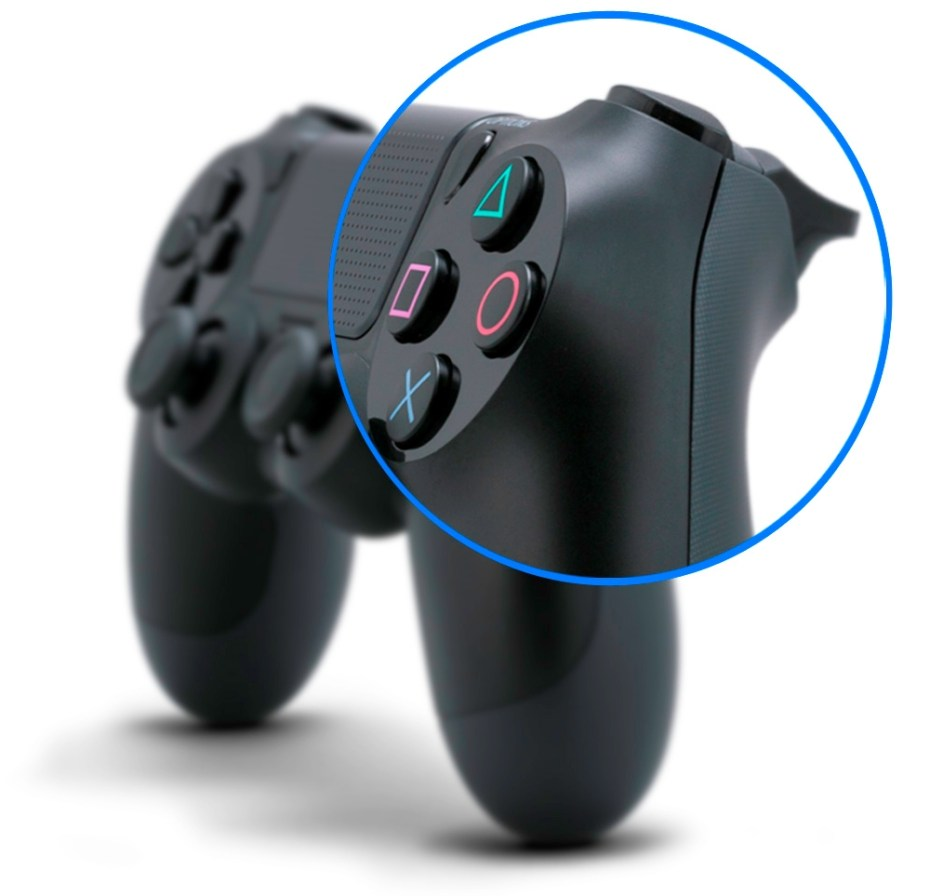 DualShock 4 - buttons and triggers