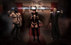 The titular Dominatrix from Saints Row IV's Enter The Dominatrix expansion pack.