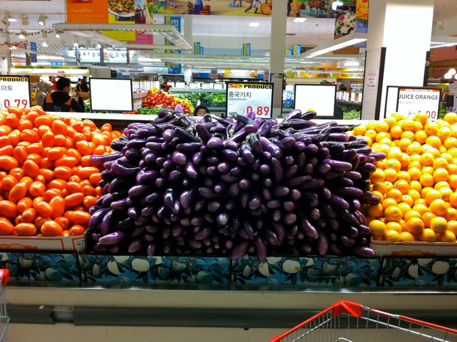 Care for some industrial effluent with your eggplant? I didn't think so.