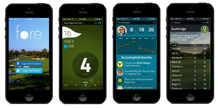 Fore is a new app for keeping track of your golf game.