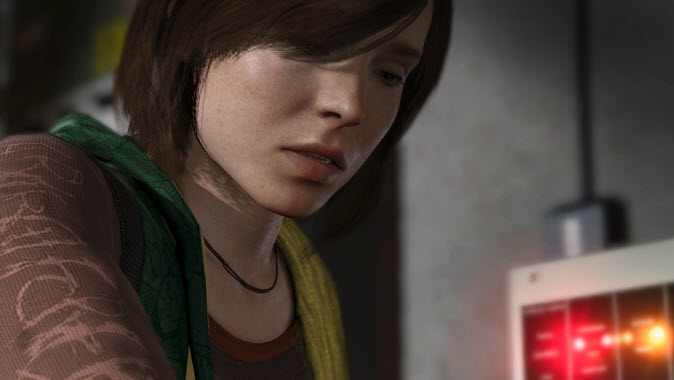 Jodie Holmes of Beyond: Two Souls