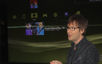 Mark Cerny shows Knack