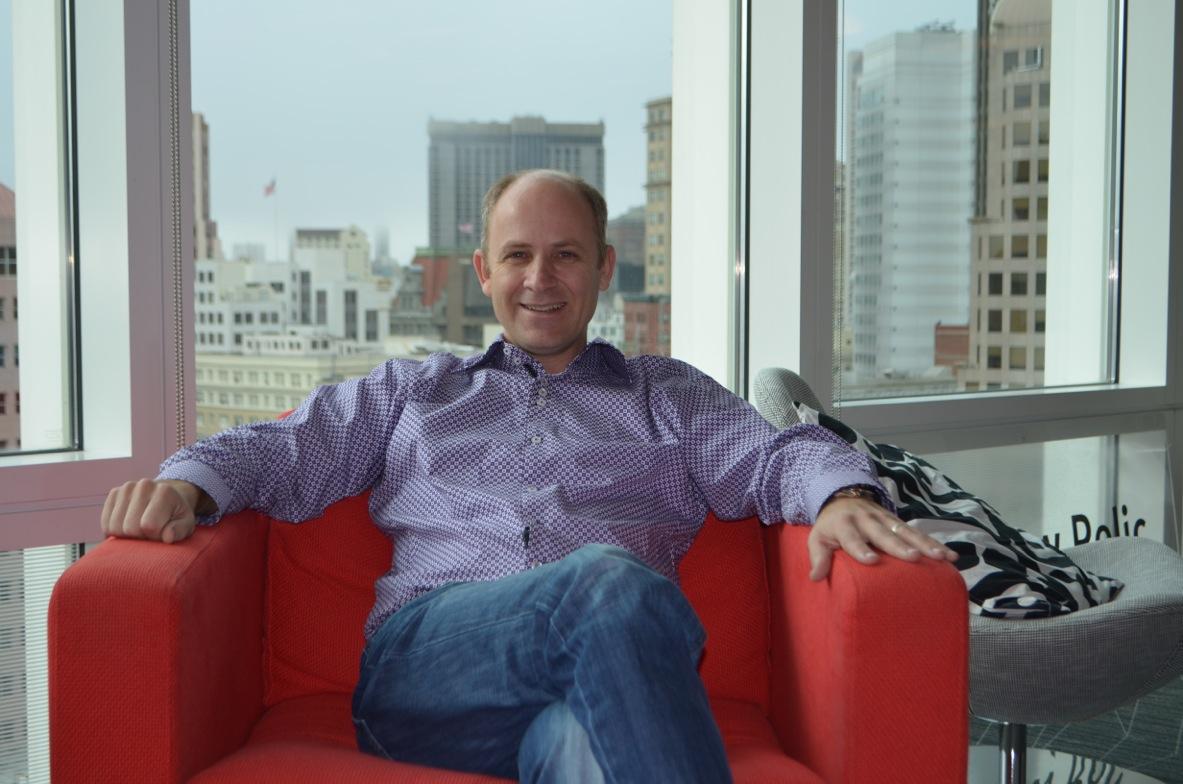 New Relic chief executive Lew Cirne