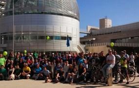 Google Ingress fans at San Jose City Hall