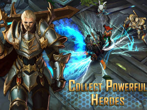 Perfect World's Arena of Heroes mobile game