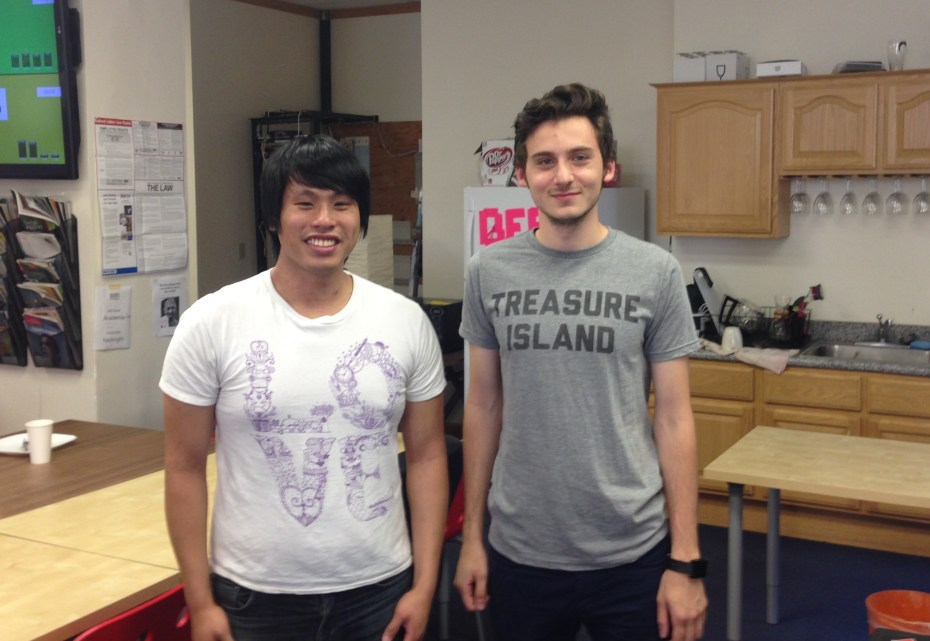 Plasmyd founders Adnan Akil and Kevin Wu