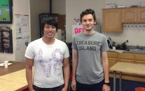 Plasmyd founders Adnan Akil and Kevin Wu