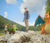 Live-action Pokémon from the launch trailer for X and Y.