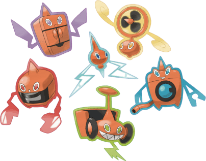 Rotom, jack-of-all-appliances.