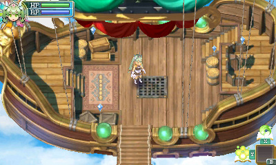 Rune Factory 4 - airships