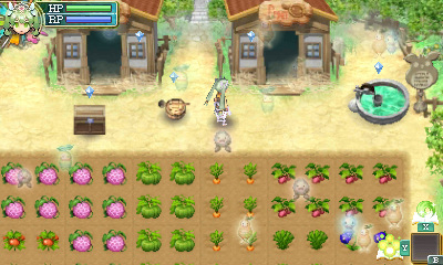 Rune Factory 4 - farm