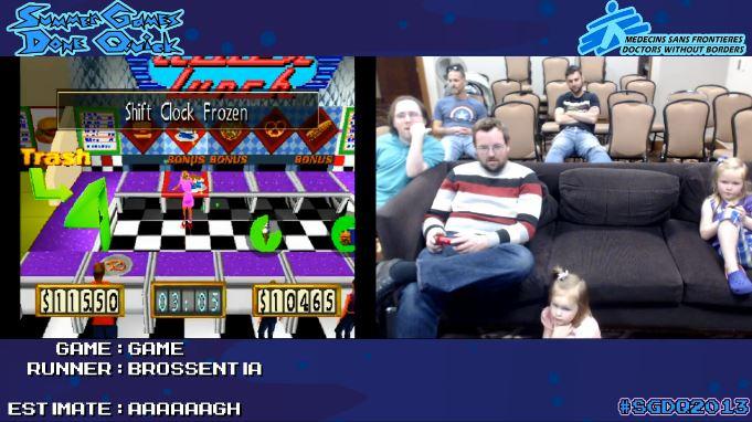 Speed Demos Archive's Summer Games Done Quick marathon.