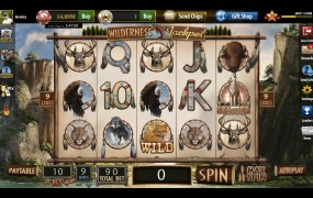 One of the Bee Cave's virtual slot machines.