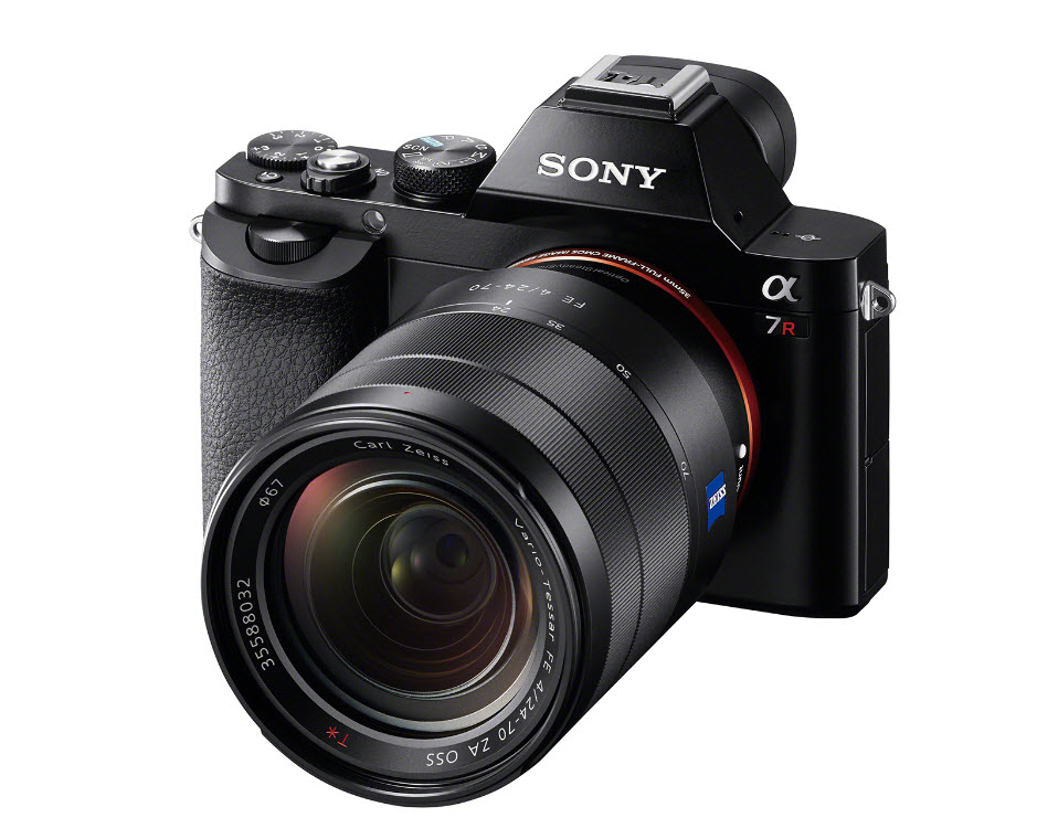 Sony Mirrorless A7 camera