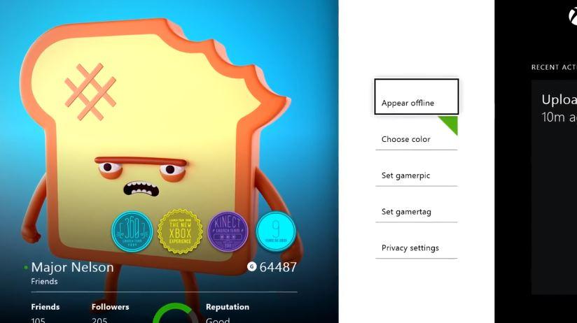 An app on Xbox One.