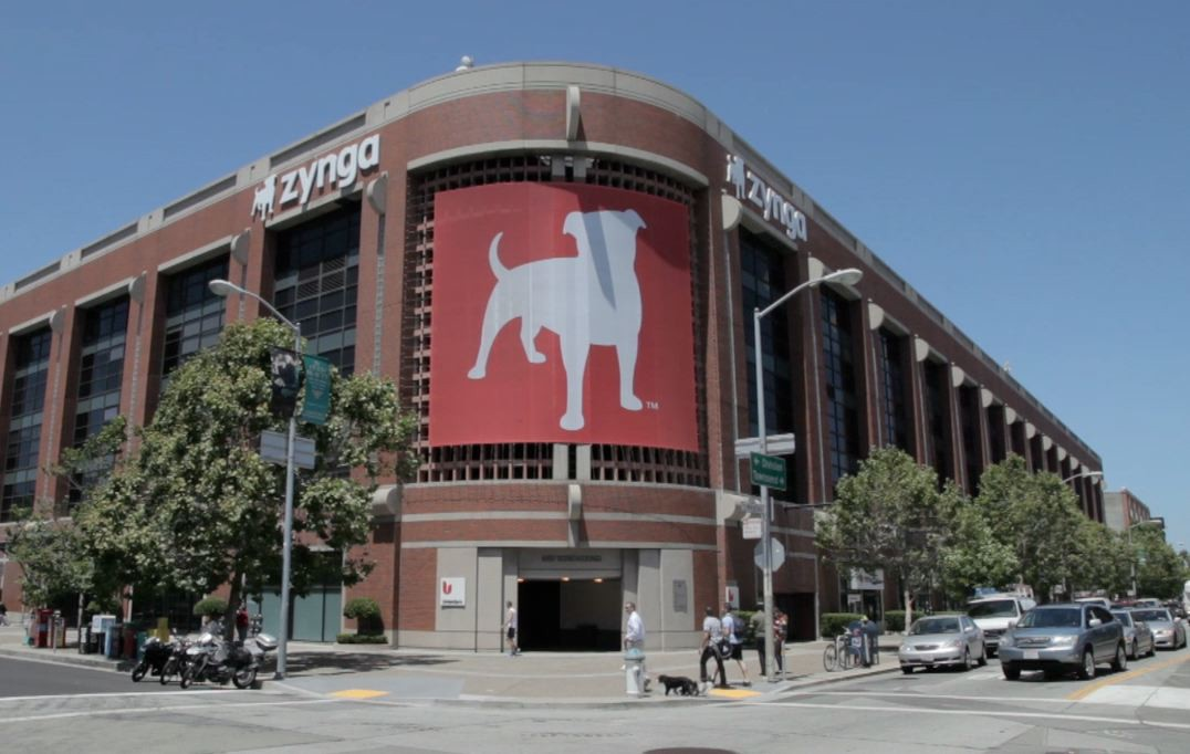 Social-gaming publisher Zynga's headquarters.
