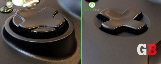 D-pads: Xbox 360 vs Xbox One controllers