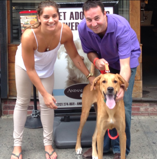 AllPaws founding member  Kimberly Bouton and founder Darrell Lerner.