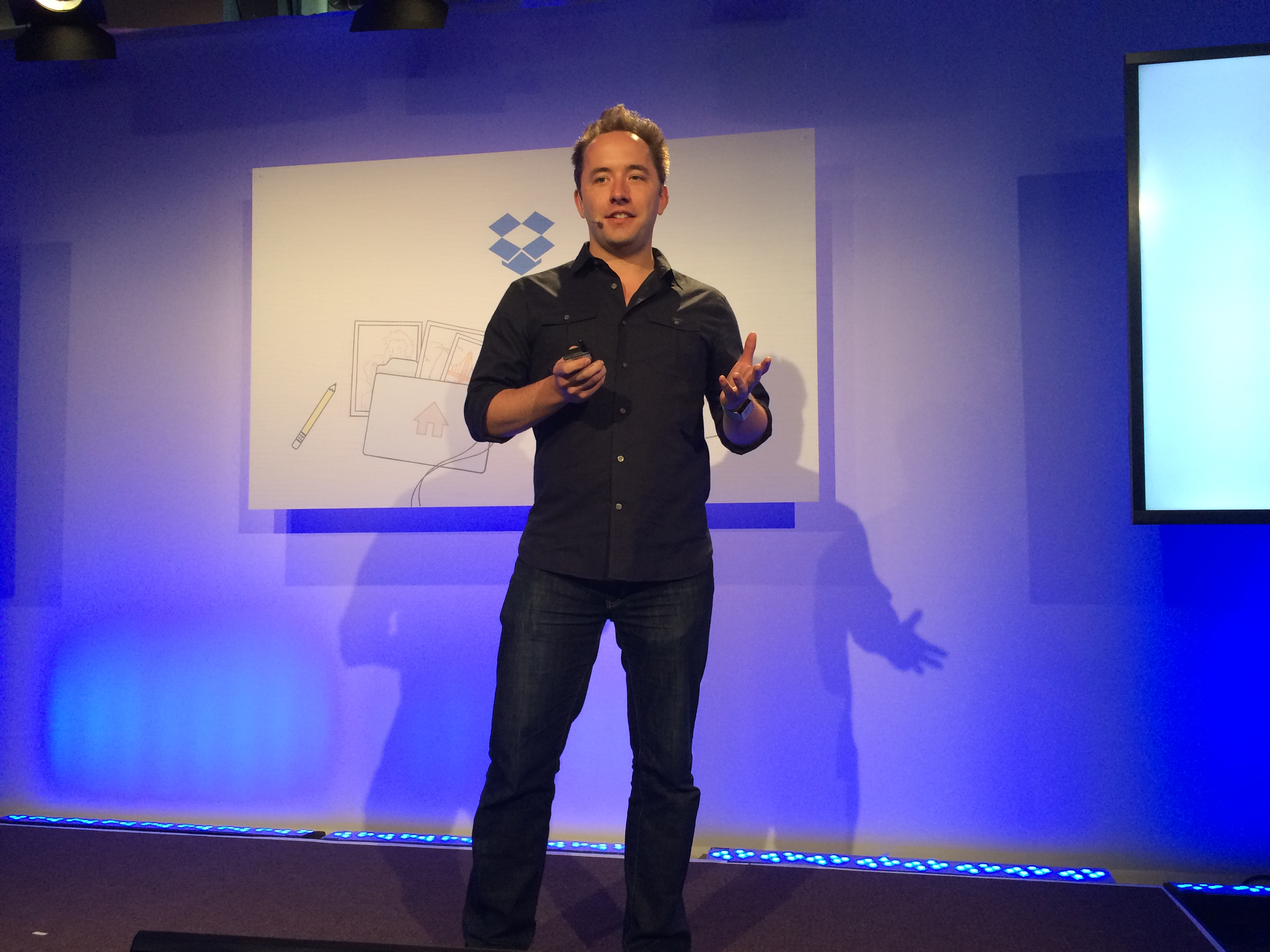 Dropbox cofounder and CEO Drew Houston.