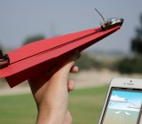 PowerUp Toys has motorized paper airplanes, controlled via iPhones