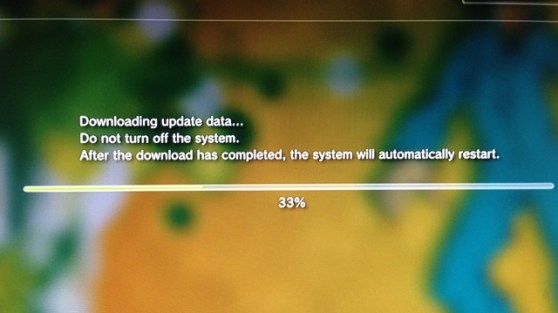 PS3 firmware update