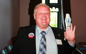 Crack-smoking Toronto mayor Rob Ford