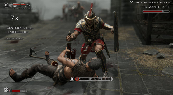 Ryse death scene