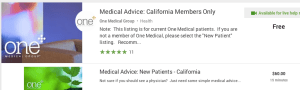 One Medical on Google Helpouts