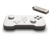 The buttons might look comically oversized, but the GameStick's controller is remarkably responsive.