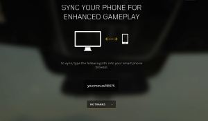 "Race the Sun prompts players to connect a smartphone for ""enhanced gameplay."""