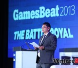 Dean Takahashi opened the event on day one with a talk  on the Battle Royal.
