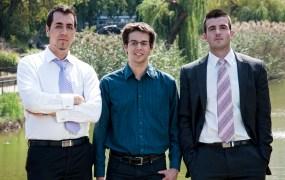 Tresorit founders Gyorgy Szilagyi, Szilveszter Szebeni and Istvan Lam