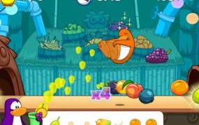 A Club Penguin minigame.
