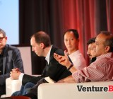Matt Marshall, CEO of VentureBeat, Ping Li, Accel Partners Mike Dauber, Battery Ventures Adam Ghobarah, Google Ventures Tim Guleri, Sierra Ventures