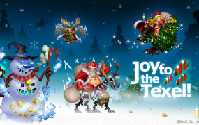 Defender of Texel is just one of many games to get a holiday makeover.