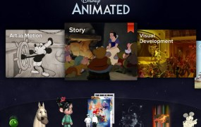Disney Animated is Apple's iPad app of the year.