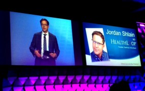 HealthLoop founder Dr. Jordan Shlain at a health conference