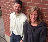 Koru cofounders Kristen Hamilton and Josh Jarrett.