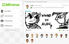 A post in the 3DS Miiverse community for The Legend of Zelda: A Link Between Worlds.