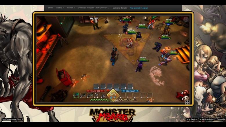 Monster Madness from developer Trendy in action.