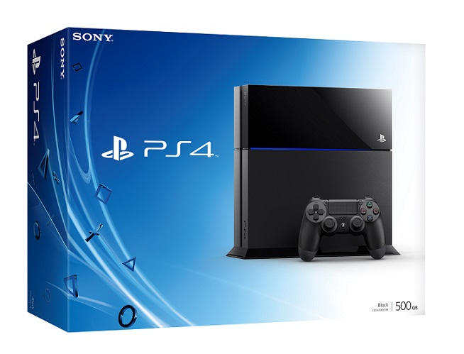 PlayStation 4 box