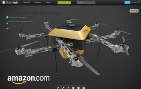 sketchfab-amazon-drone