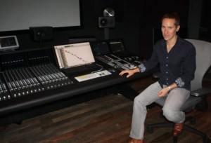 Chuck Doud, music director at the PlayStation Music Studio in San Mateo, Calif.