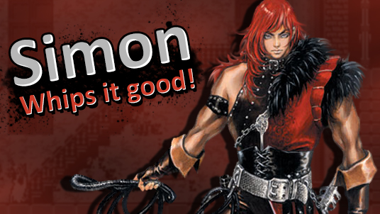 Belmonts slay monsters for a living, so Simon won't hesitate to crack his whip against weirdos like Bowser, Donkey Kong, or Wario. Subweapons like the boomerang cross, throwing ax, and holy water make the vampire hunter a dangerous adversary at any distance.