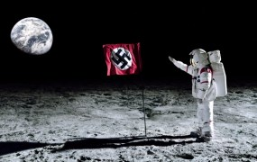 The Reich made it to the moon a decade before we did.
