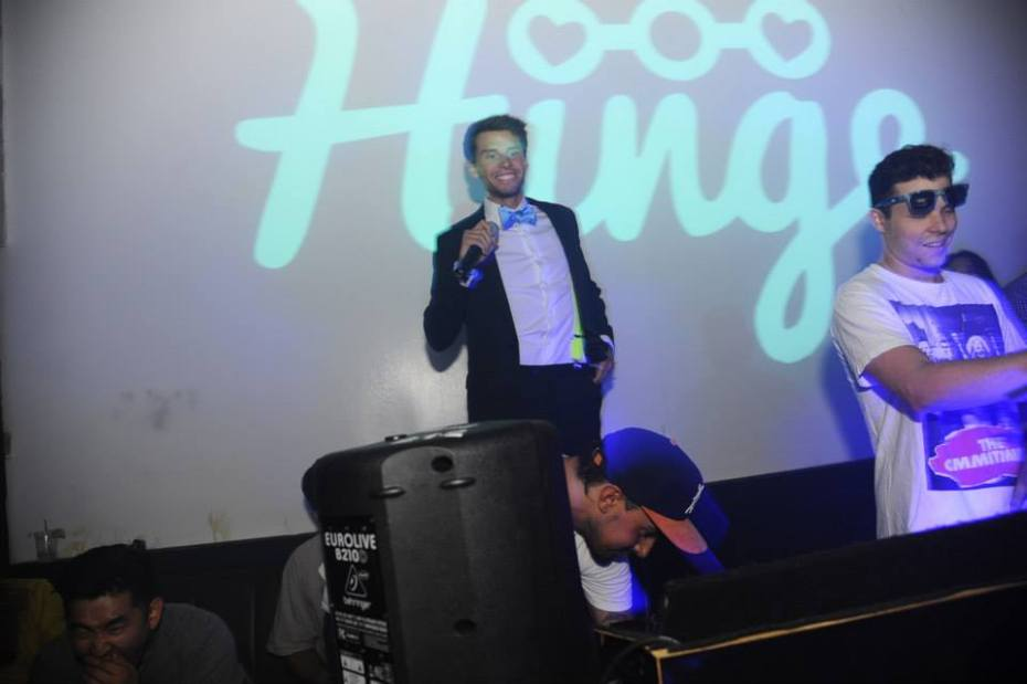 Hinge founder Justin McLeod