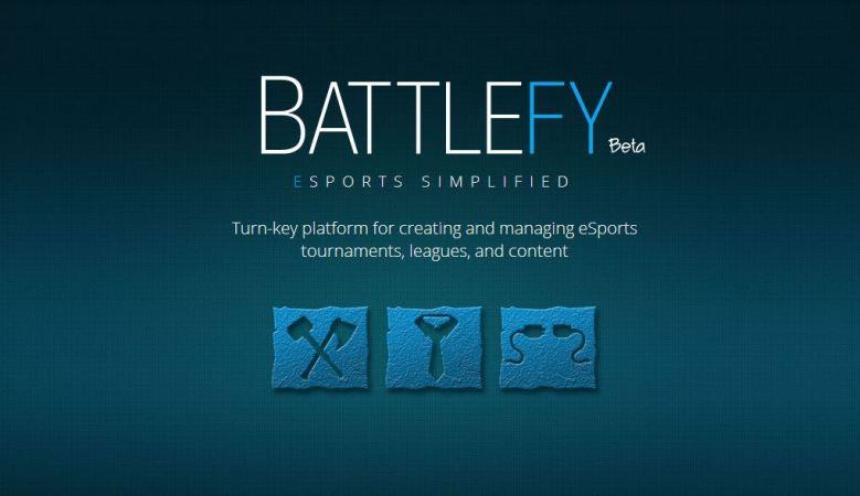 Battlefy is a new e-sports tournament platform.