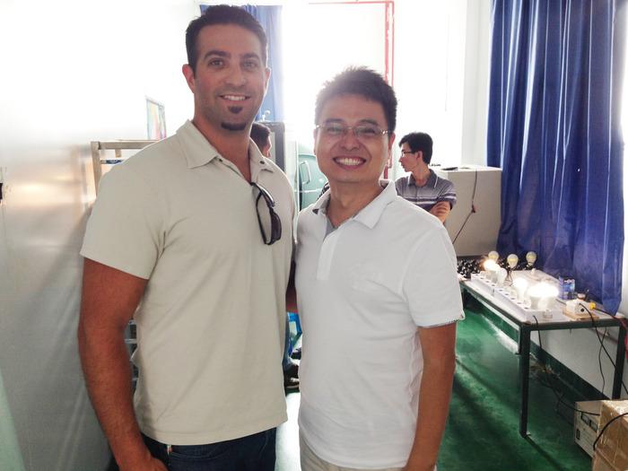 StrongVolt founder Ian Sells and advisor / lead engineer Frank Wang
