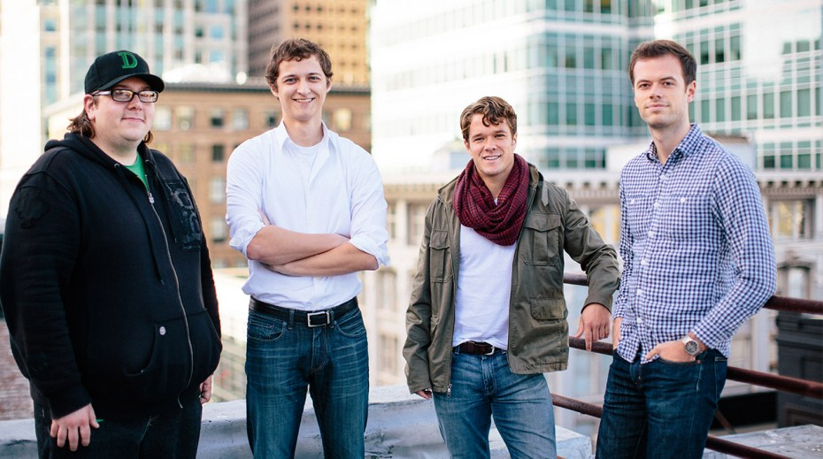 Discoverly's team: Doug Molidor, Chris Yuska, Ted Summe, Ryan Dick (L-R)
