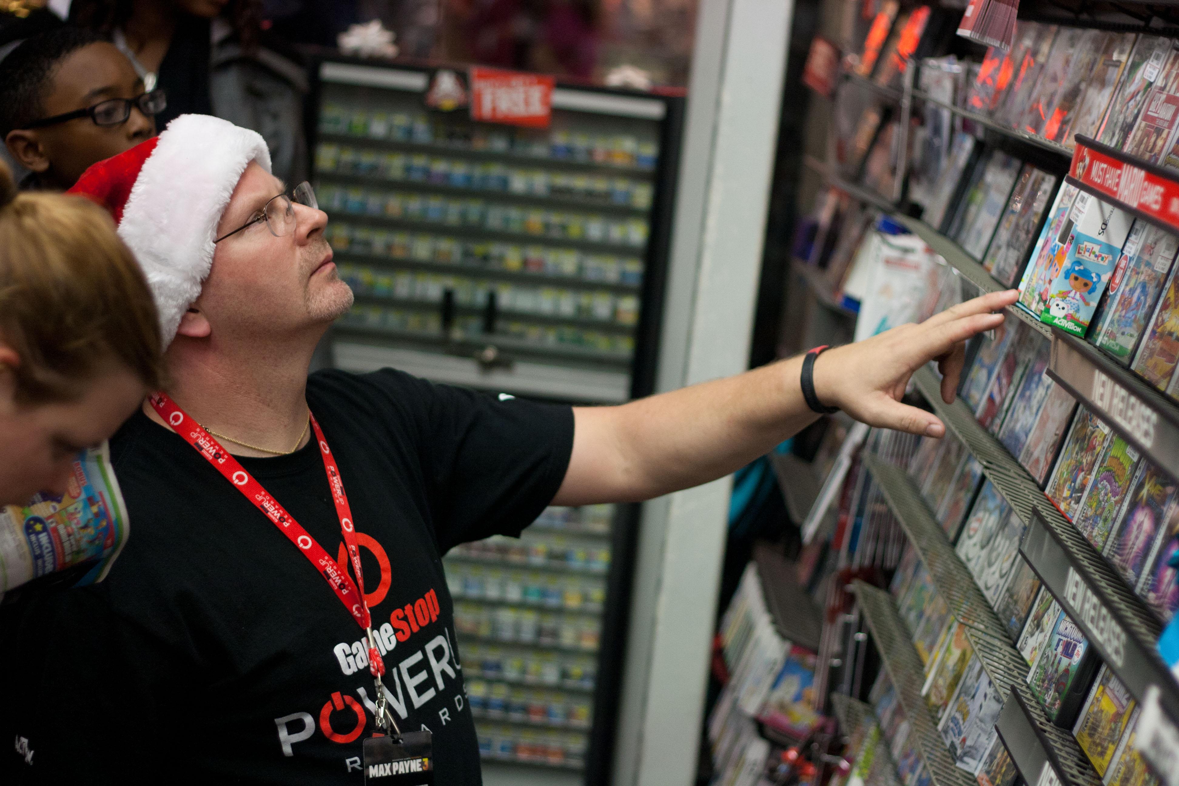 One of GameStop's associates.
